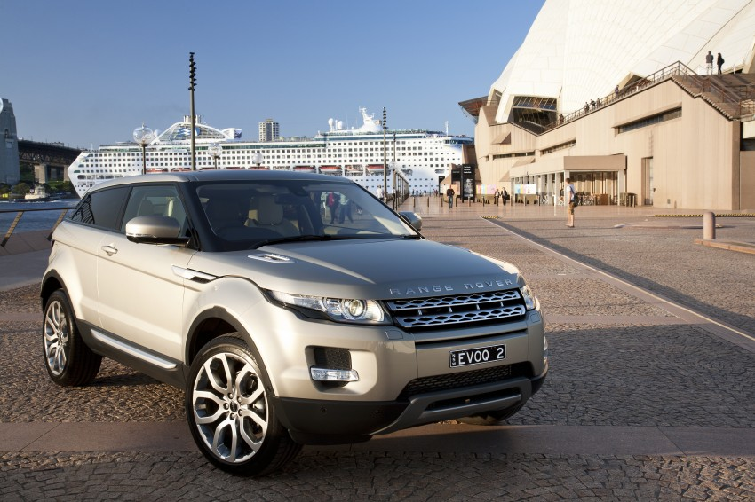 Range Rover Evoque Test Drive Review in Sydney Image #77234