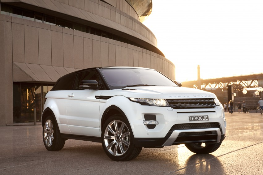 Range Rover Evoque Test Drive Review in Sydney Image #77235
