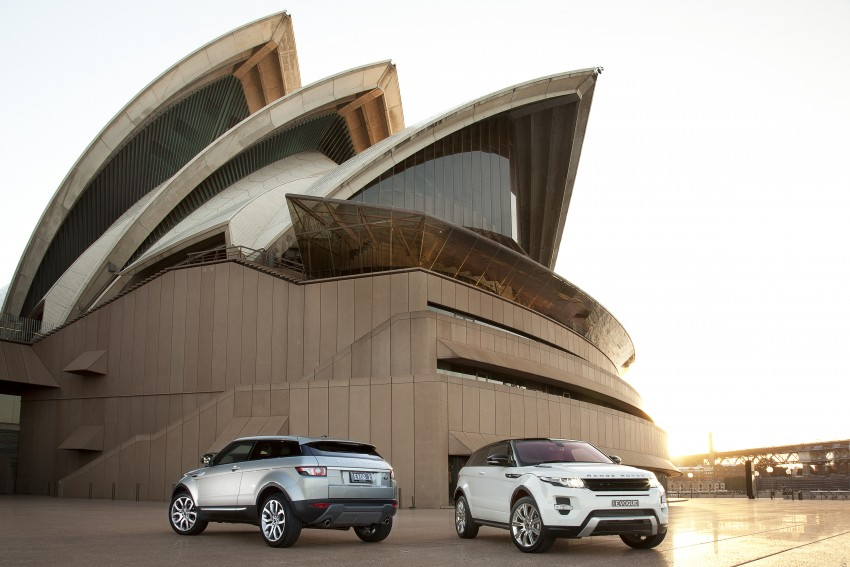 Range Rover Evoque Test Drive Review in Sydney Image #77236