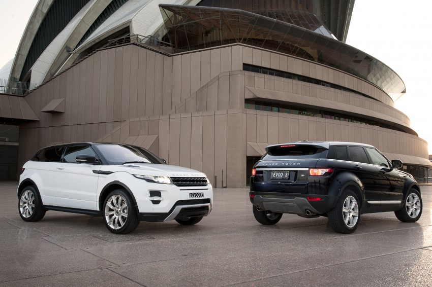 Range Rover Evoque Test Drive Review in Sydney Image #77237