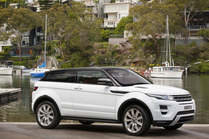 Range Rover Evoque Test Drive Review in Sydney Image #77256