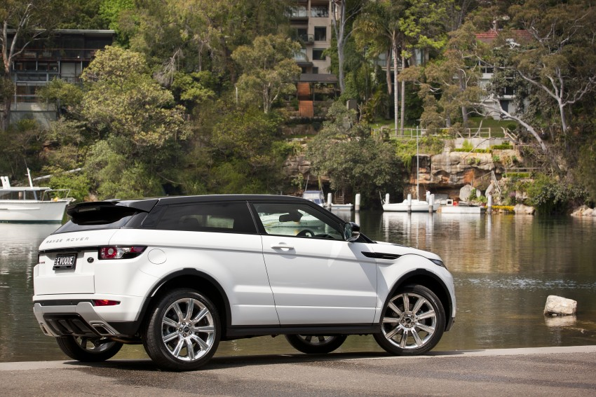 Range Rover Evoque Test Drive Review in Sydney Image #77257