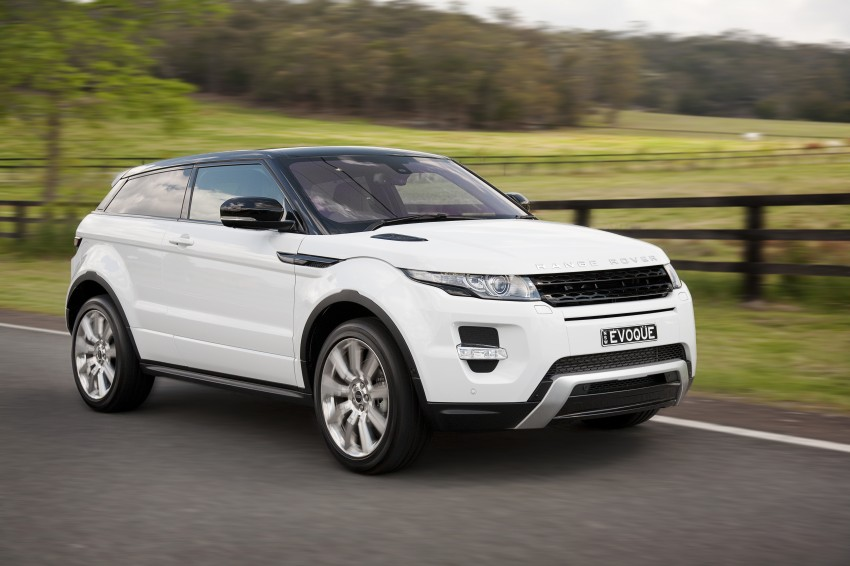 Range Rover Evoque Test Drive Review in Sydney Image #77258
