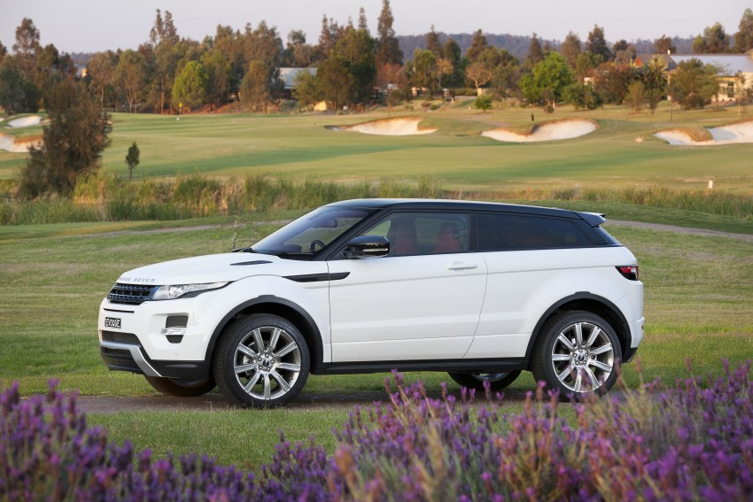 Range Rover Evoque Test Drive Review in Sydney Image #77259