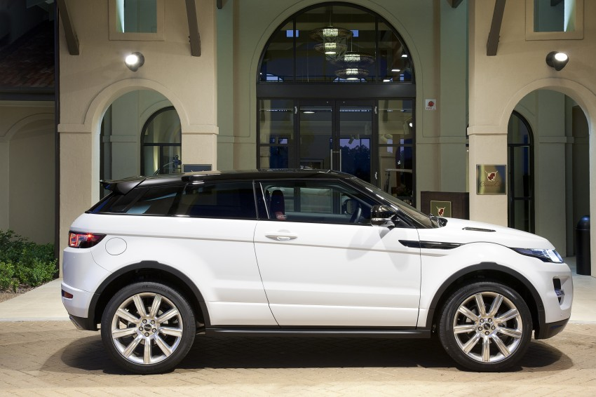 Range Rover Evoque Test Drive Review in Sydney Image #77260