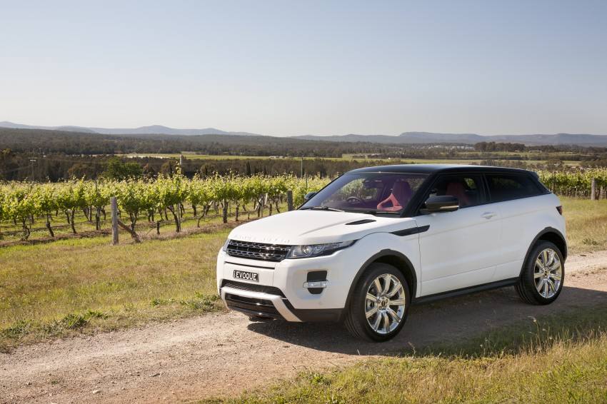 Range Rover Evoque Test Drive Review in Sydney Image #77261