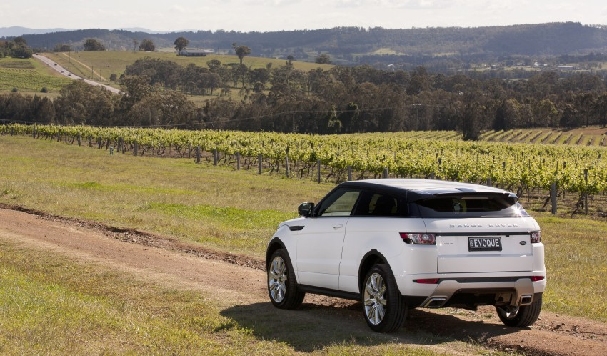 Range Rover Evoque Test Drive Review in Sydney Image #77263