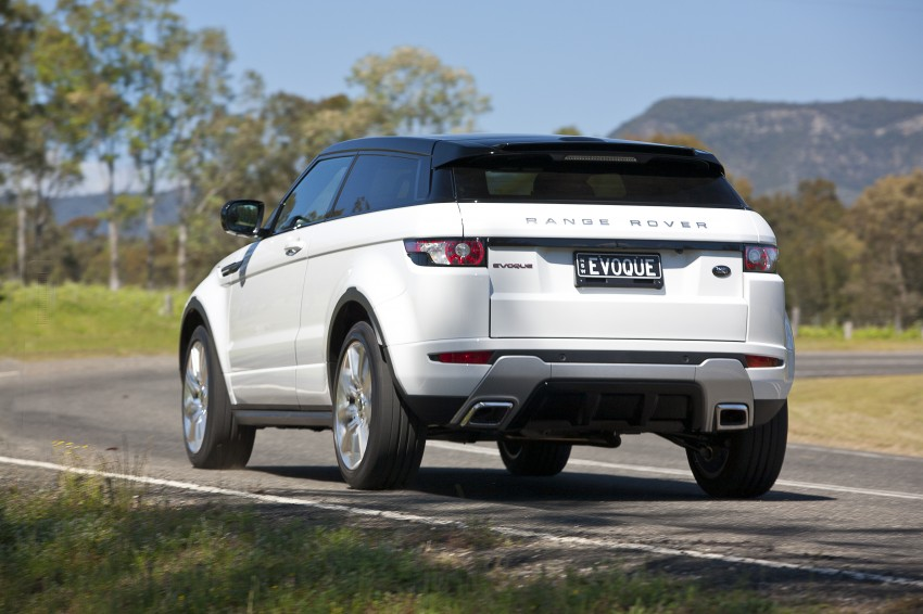Range Rover Evoque Test Drive Review in Sydney Image #77264