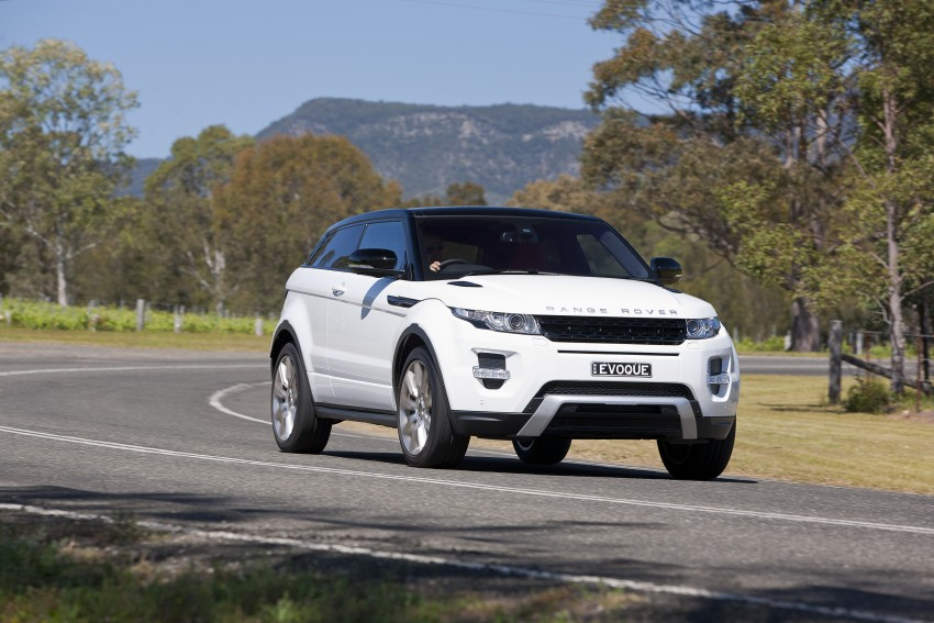 Range Rover Evoque Test Drive Review in Sydney Image #77265