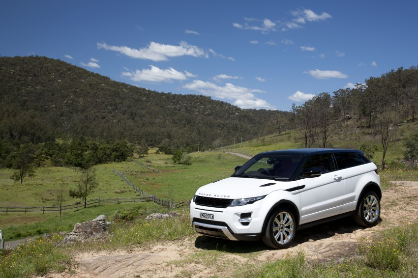Range Rover Evoque Test Drive Review in Sydney Image #77266