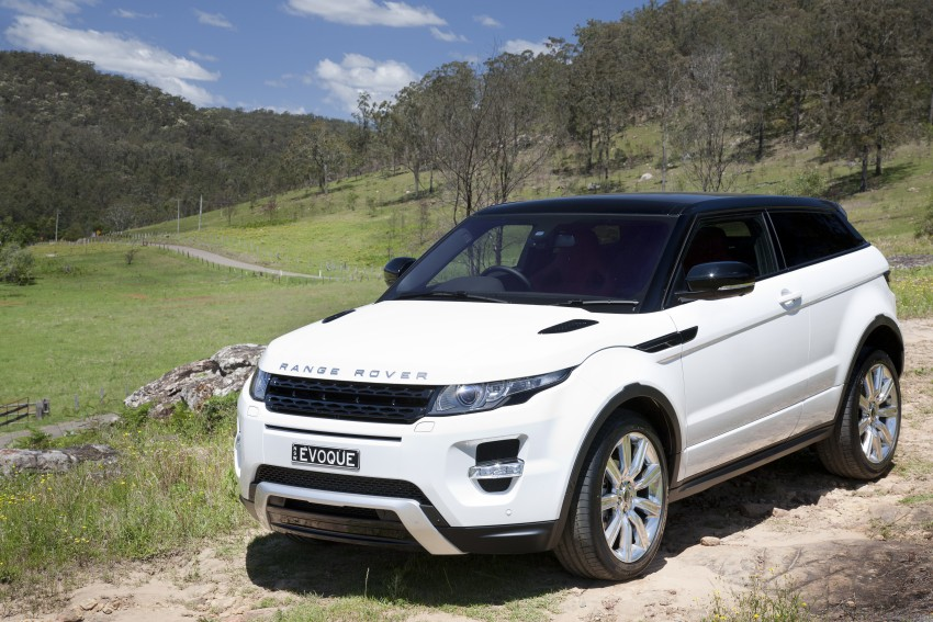 Range Rover Evoque Test Drive Review in Sydney Image #77267