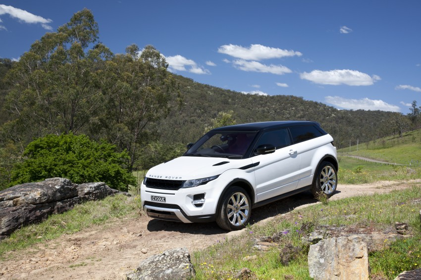 Range Rover Evoque Test Drive Review in Sydney Image #77268