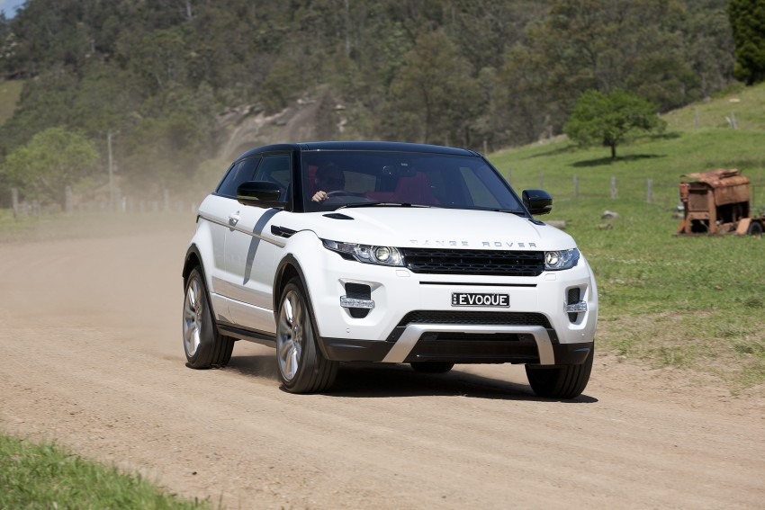 Range Rover Evoque Test Drive Review in Sydney Image #77270