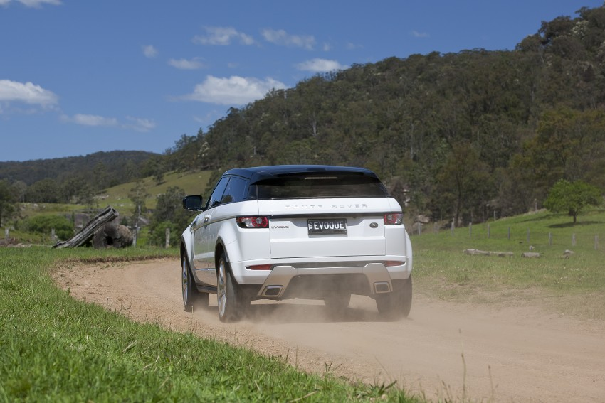 Range Rover Evoque Test Drive Review in Sydney Image #77271