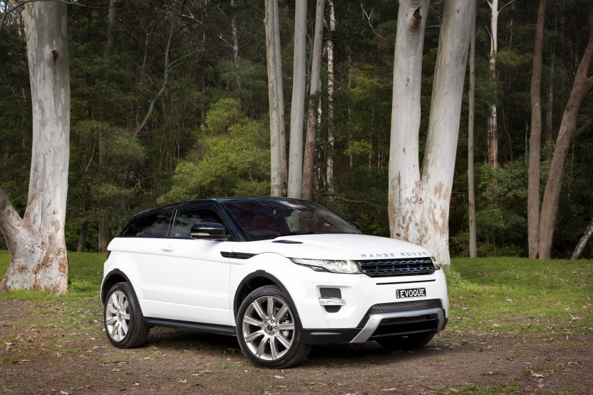 Range Rover Evoque Test Drive Review in Sydney Image #77320