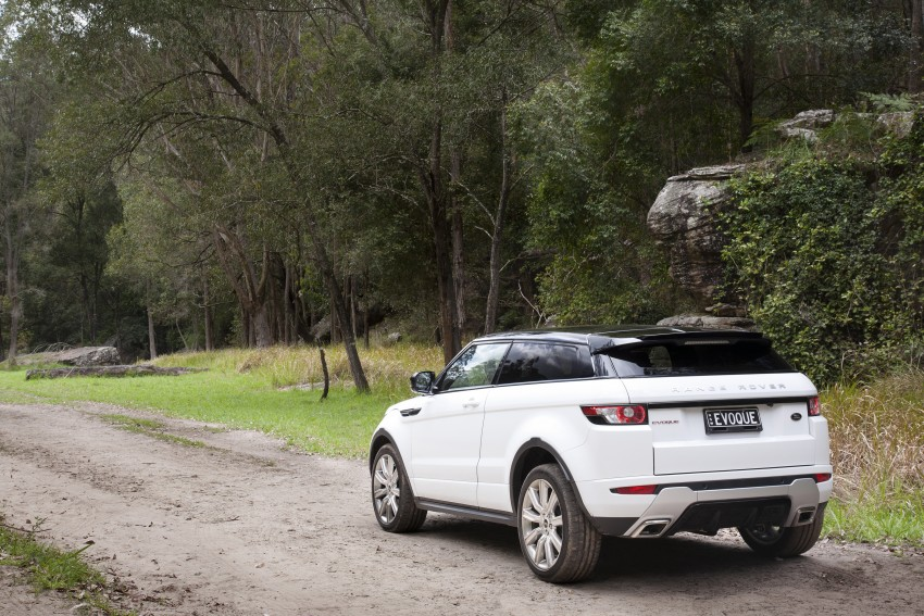 Range Rover Evoque Test Drive Review in Sydney Image #77321