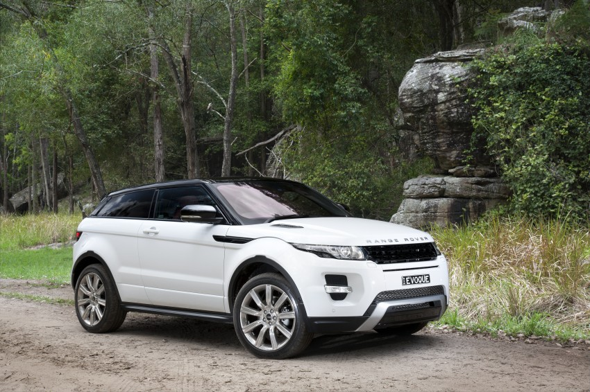 Range Rover Evoque Test Drive Review in Sydney Image #77322
