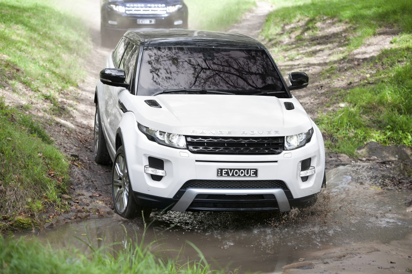 Range Rover Evoque Test Drive Review in Sydney Image #77323