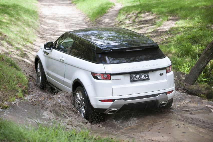 Range Rover Evoque Test Drive Review in Sydney Image #77324
