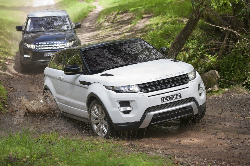 Range Rover Evoque Test Drive Review in Sydney Image #77325