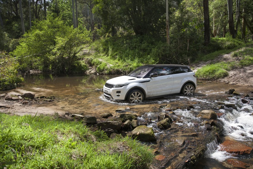 Range Rover Evoque Test Drive Review in Sydney Image #77326