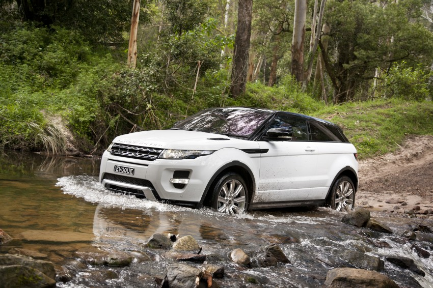 Range Rover Evoque Test Drive Review in Sydney Image #77327
