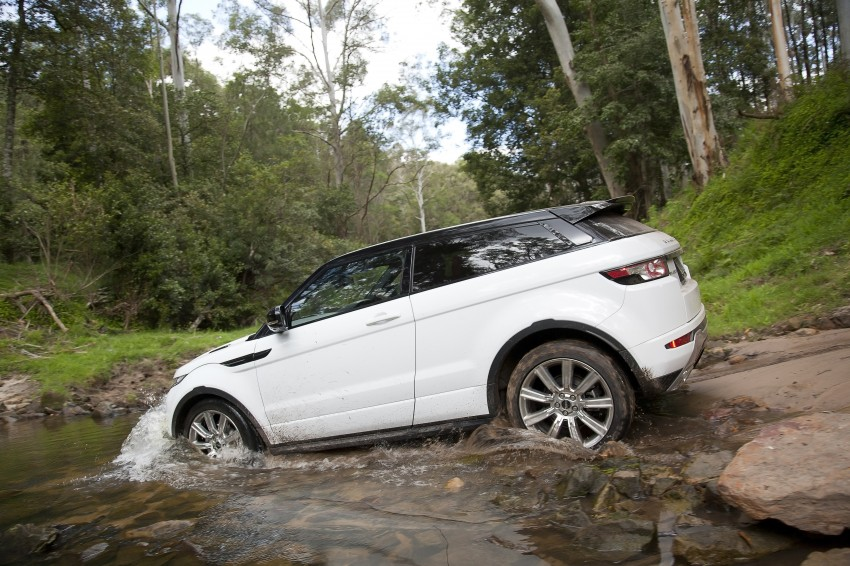 Range Rover Evoque Test Drive Review in Sydney Image #77328