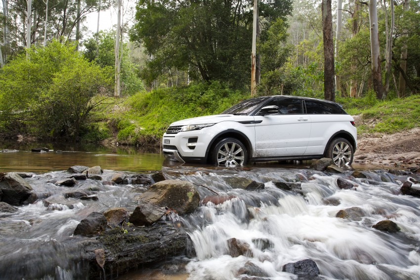 Range Rover Evoque Test Drive Review in Sydney Image #77329