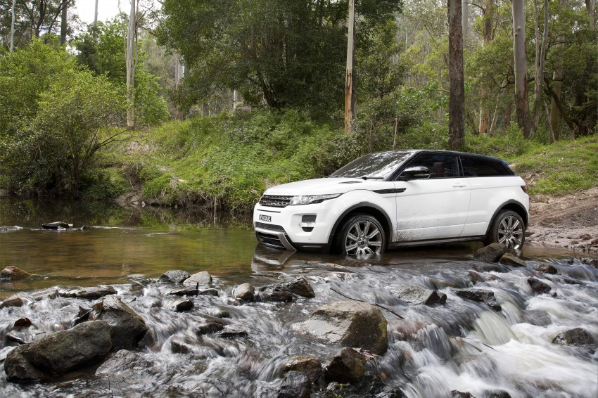 Range Rover Evoque Test Drive Review in Sydney Image #77330