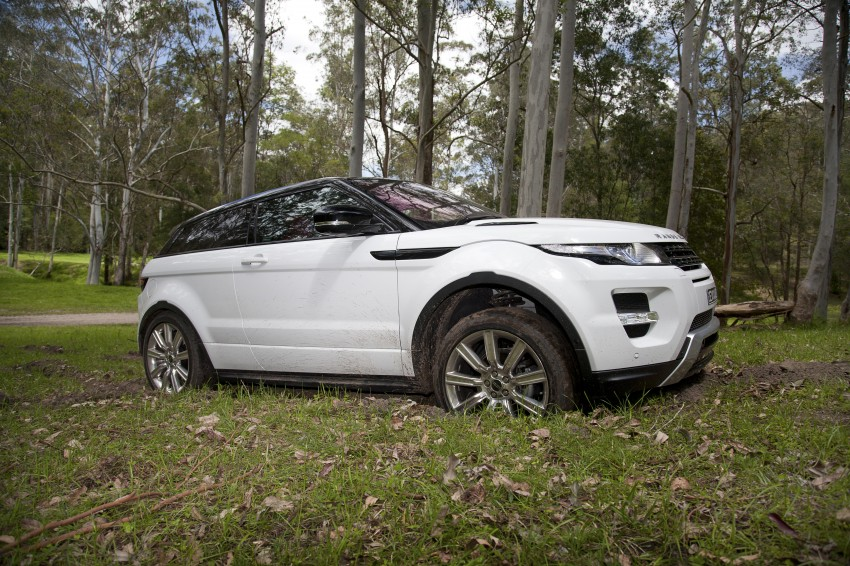 Range Rover Evoque Test Drive Review in Sydney Image #77331