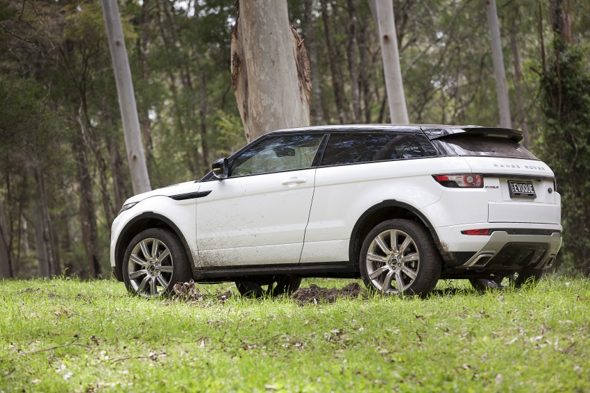 Range Rover Evoque Test Drive Review in Sydney Image #77333
