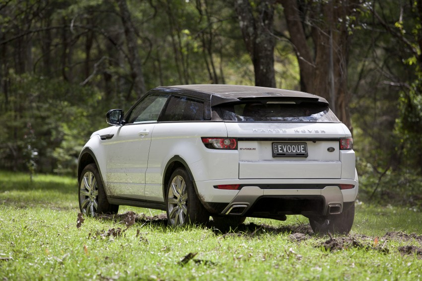 Range Rover Evoque Test Drive Review in Sydney Image #77334