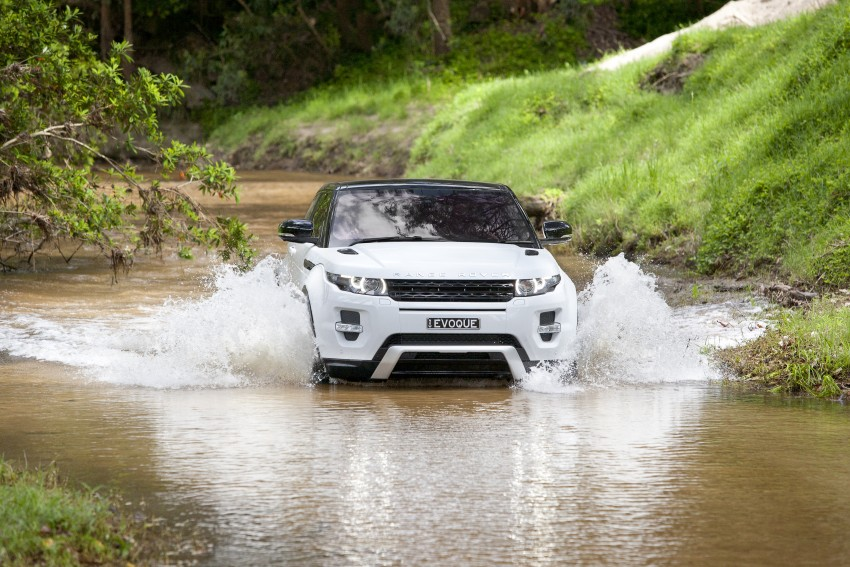Range Rover Evoque Test Drive Review in Sydney Image #77335