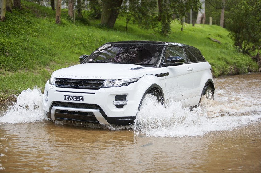 Range Rover Evoque Test Drive Review in Sydney Image #77337