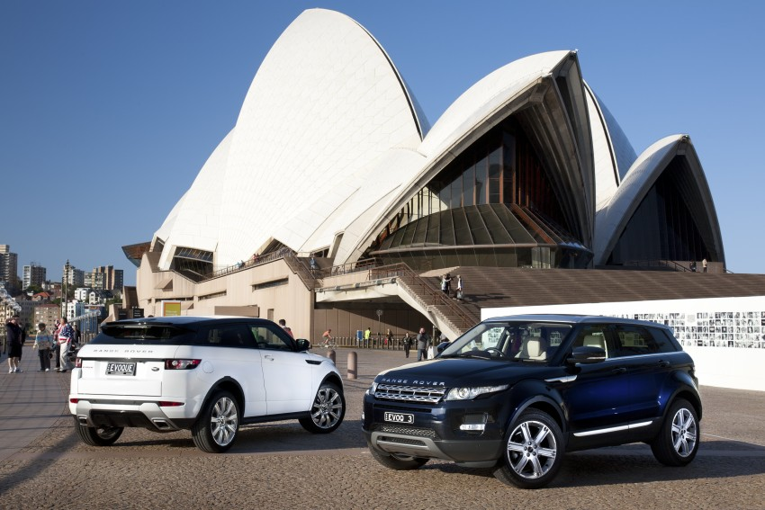 Range Rover Evoque Test Drive Review in Sydney Image #77202