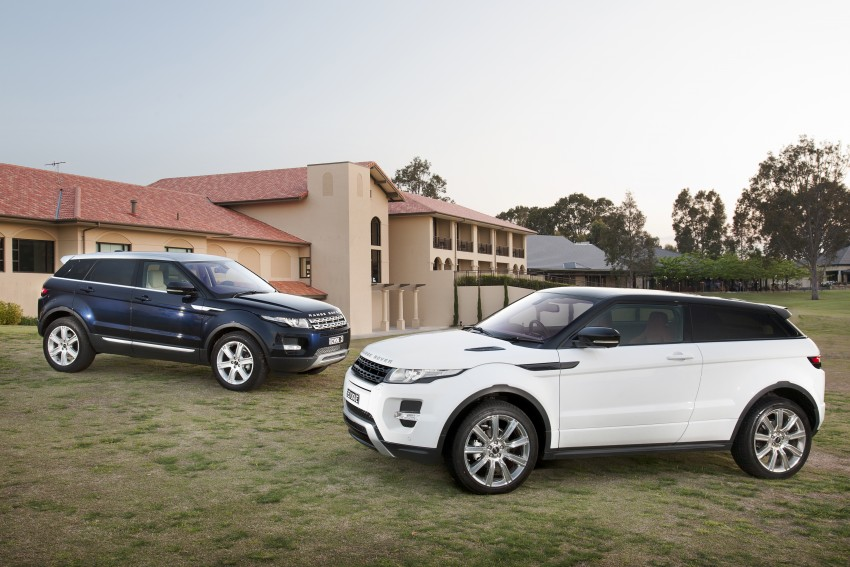Range Rover Evoque Test Drive Review in Sydney Image #77239