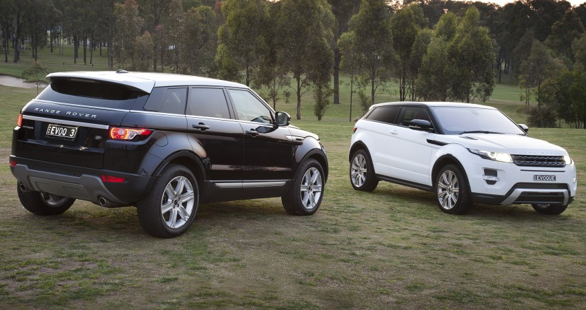 Range Rover Evoque Test Drive Review in Sydney Image #77240