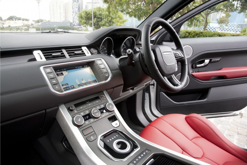 Range Rover Evoque Test Drive Review in Sydney Image #77272