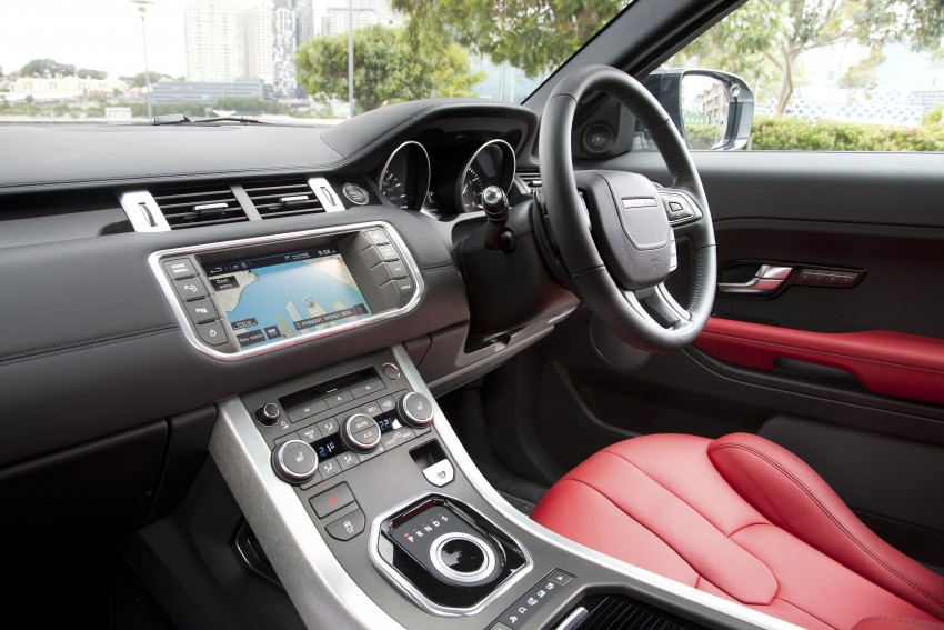 Range Rover Evoque Test Drive Review in Sydney Image #77273