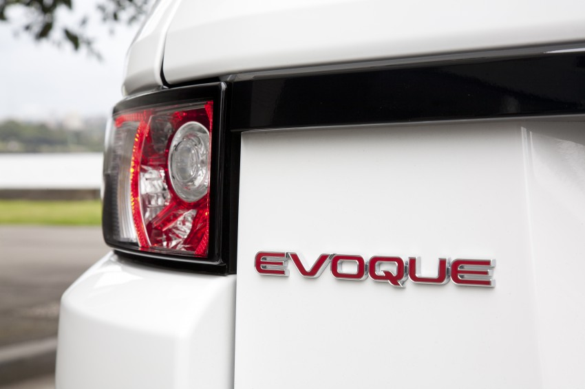 Range Rover Evoque Test Drive Review in Sydney Image #77279