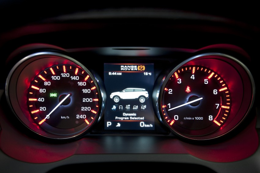 Range Rover Evoque Test Drive Review in Sydney Image #77283