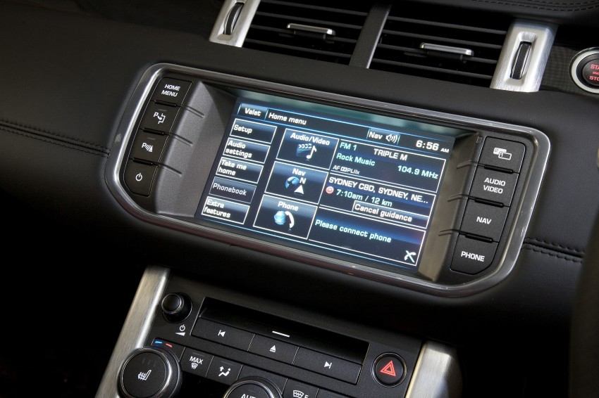 Range Rover Evoque Test Drive Review in Sydney Image #77284