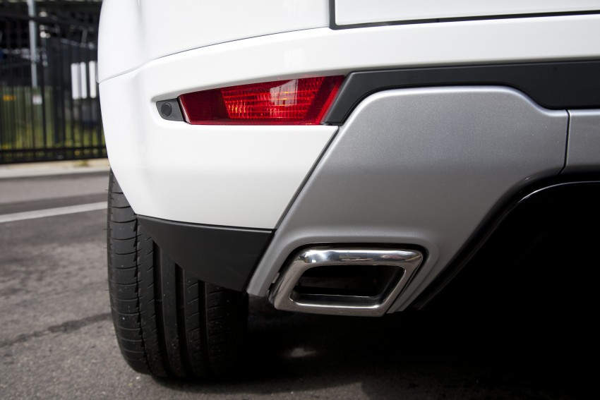 Range Rover Evoque Test Drive Review in Sydney Image #77289