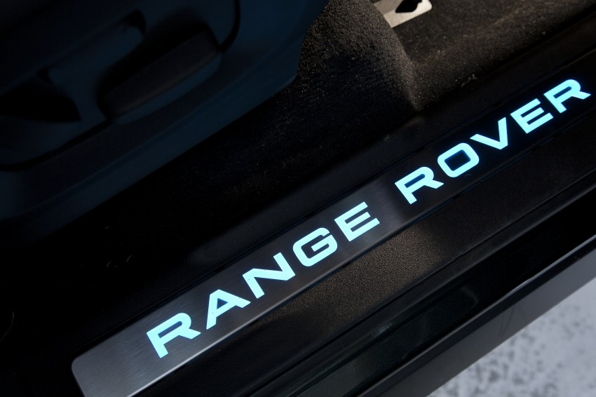 Range Rover Evoque Test Drive Review in Sydney Image #77293