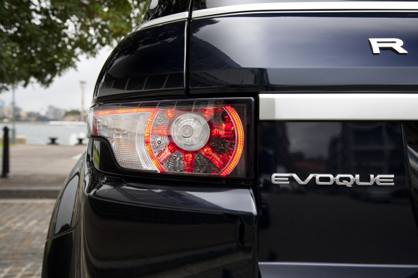 Range Rover Evoque Test Drive Review in Sydney Image #77296