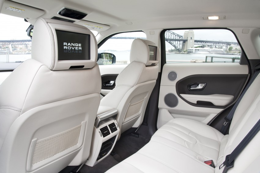 Range Rover Evoque Test Drive Review in Sydney Image #77300