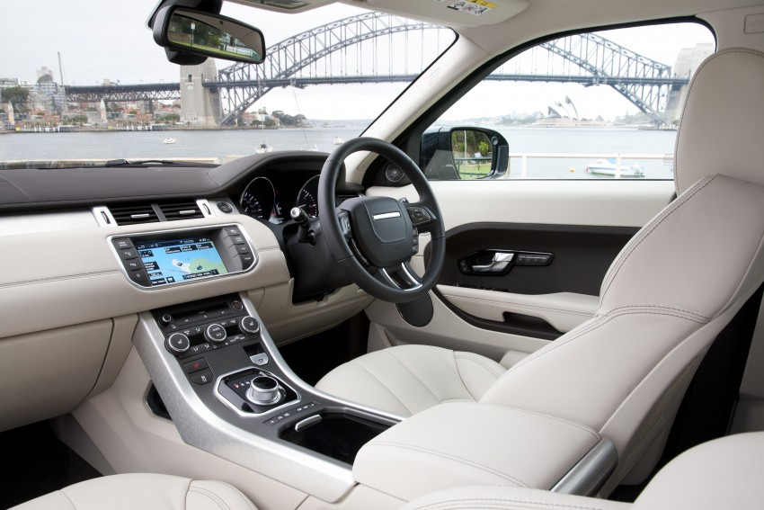 Range Rover Evoque Test Drive Review in Sydney Image #77301