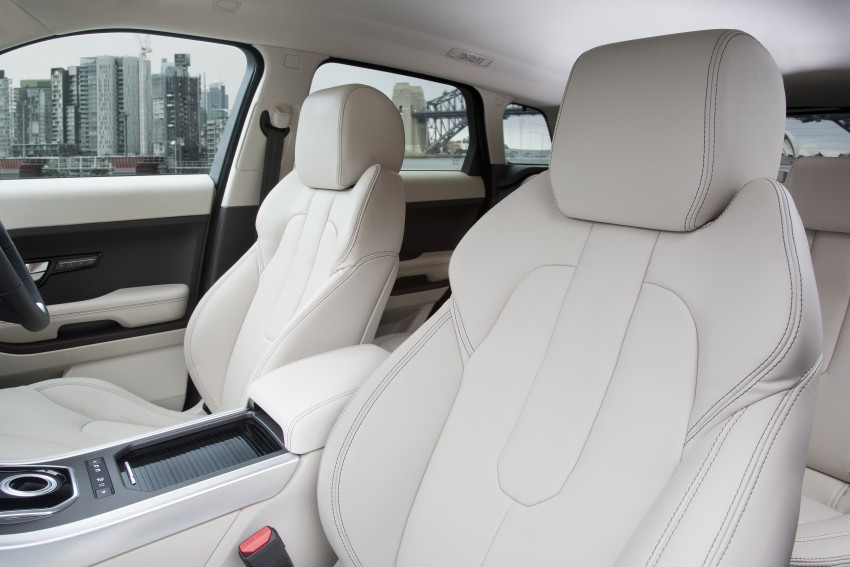 Range Rover Evoque Test Drive Review in Sydney Image #77303