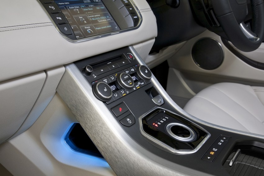 Range Rover Evoque Test Drive Review in Sydney Image #77304
