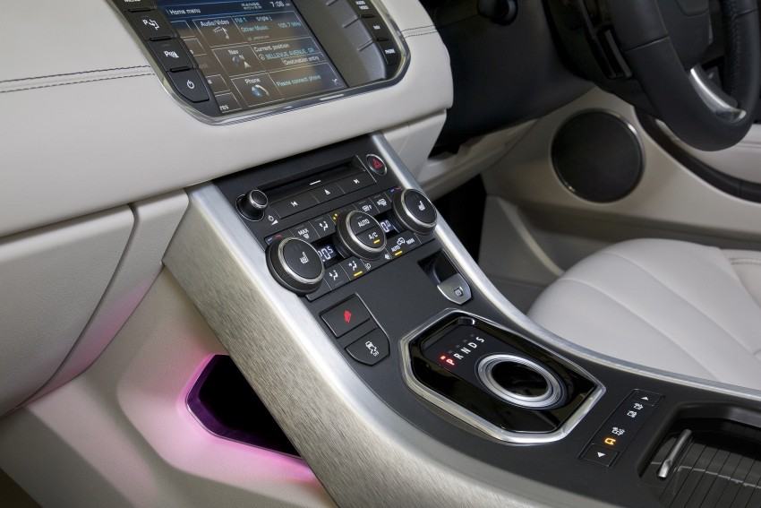 Range Rover Evoque Test Drive Review in Sydney Image #77305